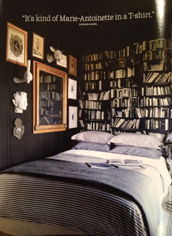 Living with books the way we live for Bedroom ideas for book lovers
